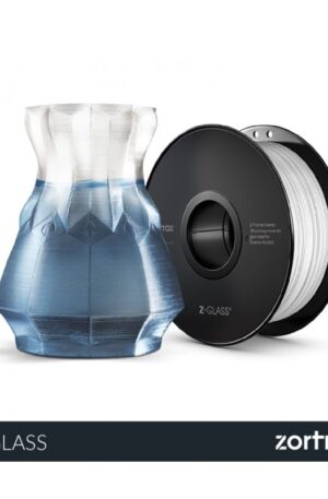 zortrax clear glass filament